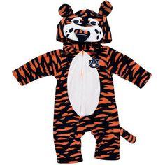 Auburn Tigers NCAA Toddler Fleece Costume-Sleeper (Size 6-9M)