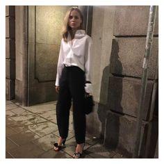 """7,368 likerklikk, 113 kommentarer – Elin Kling (@elinkling) på Instagram: """"Last night in @toteme"""""""