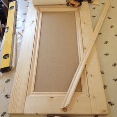 Building a Victorian alcove cupboard (part - Period Terrace Alcove Door Construction 1 Door Makeover, Alcove Wardrobe, Diy Cupboard Doors, Cupboard Doors Makeover, Alcove Cupboards, Diy Cupboards, Diy Cabinet Doors, Alcove Ideas Living Room, Kitchen Cupboard Doors