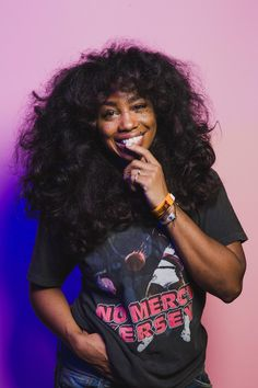 I want to do my hair something like this. SZA