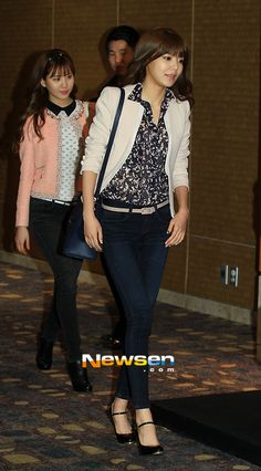 Sooyoung + Seohyun (Girls' Generation) CASUAL STYLE (SunYe's Wedding)