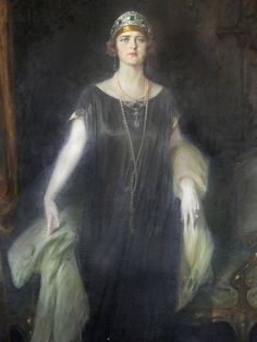 Painting da Princess Maria of Romania or Mignon (later Queen Marie of Yugoslavia) Nostalgic Art, Princess Alexandra, Queen Costume, Queen Mary, Great Women, Royal Jewels, Kaiser, Queen Victoria, Pictures To Paint