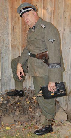 Waffen-SS Feldgendarmerie Das Reich Div. 2 Rgt.