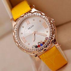 Jw307 новый 2013 женщины мода кварцевые часы подвижные алмаз роман часы дамы наручные часы KEZZI марка мода часы купить на AliExpress