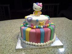 Hello Kitty Birthday Cake Hello Kitty Birthday Cake, 3d Cakes, No Bake Cake, Homemade, Baking, Desserts, Food, Tailgate Desserts, Deserts