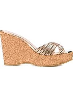 JIMMY CHOO 'Perfume' wedge sandal