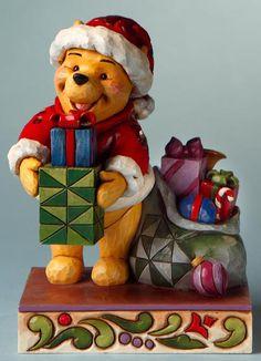 Santa Pooh with Presents