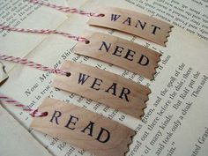 4 gift principle: Something they want, need, wear, read