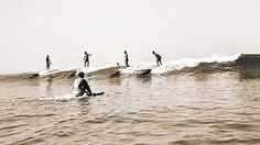 Tom Adler's latest exhibition offers a unique view of the disparate worlds of surf, adventure, and art.