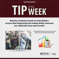 LP Tip of the Week: Monitor inventory levels in total dollars #DTTLPTips