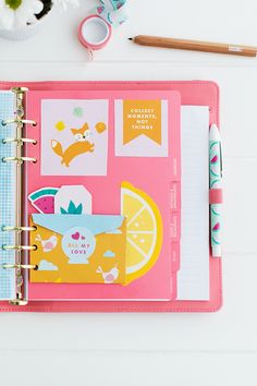 Make your kikki.K Planner oh so cute with these gorgeous accessories from our Paper Lover's Book