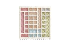 Shabby Chic Wall-Mounted Jewelry Rack in Multi-Color by UMA from Gardner-White Furniture