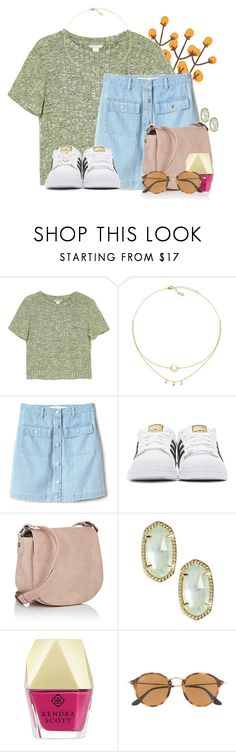 """""""Ok I need your opinion.. does this look ok"""" by flroasburn ❤ liked on Polyvore featuring Monki, Gap, adidas Originals, Deux Lux, Kendra Scott and Ray-Ban"""