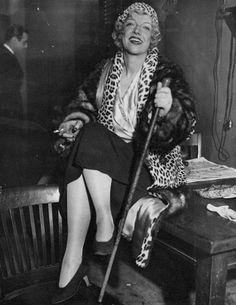 "Celebrating Texas Guinan, the Original ""Nasty Woman"" Size Of Texas, New York Night, 257, Cowboy Girl, 20s Fashion, Female Fashion, Leopard Coat, New York Daily News, Guys And Dolls"