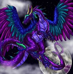 Image result for moon dragon