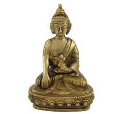 Amazon.com: Lord Buddha Brass Statue Religious Gifts: Home & Kitchen
