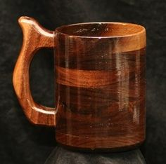 Handcrafted Wood Mug  Walnut 32 oz Tankard, Beer Stein, Wood Mug, Beer Mug, Drinking Vessel by WondrousWorksInWood on Etsy