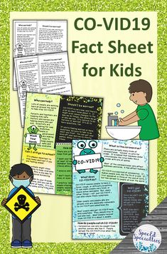 Distance Learning Coronavirus Information Fact Sheet Poster for Kids Special Education Classroom, Primary Classroom, Elementary Teacher, Classroom Activities, Fun Activities, Emotional Child, Social Emotional Learning, School Closures, Special Needs Kids