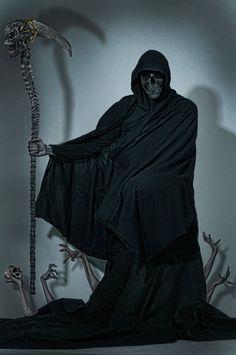 Grim Reaper by JesperOscarsson on DeviantArt Grim Reaper Art, Don't Fear The Reaper, Girl Photo Poses, Girl Photos, Dark Fantasy Art, Dark Art, Reaper Drawing, Reaper Costume, Robot Costumes