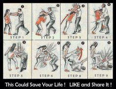 Some self defense tips