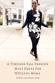 Fall reminds me to let go of the summer feels and dive into my closet for 15 timeless Fall fashion must haves for WELLthy Moms like myself. Mom Style Fall, Wife Mom Boss, Turtleneck T Shirt, African Fashion, Fashion Women, Effortless Chic, Basic Outfits, Winter Fashion, Spring Fashion