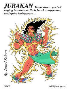 Taino Myth: Jurakan (Storm God)