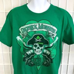 30ee9a439 Dropkick Murphys T Shirt Size L Skull Cannon Irish Punk Celtic Band  celtic   dropkickmurphys