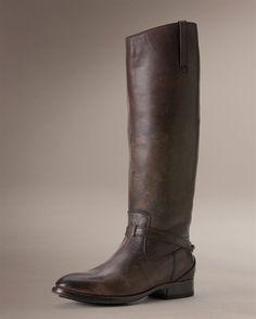 Equestrian boot. Lindsay Plate {Frye Company}