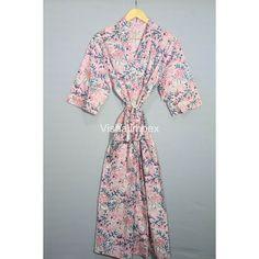 Cotton Kimono, Floral Kimono, Tie Styles, Collar Styles, Kimono Dressing Gown, Bath Robes For Women, Maxi Gowns, Bridesmaid Robes, Beach Wear