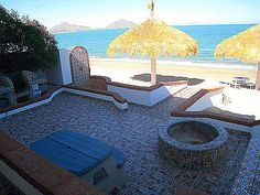 San Felipe Rentals - Juliet's Beach Home and two Beach condos, the Beach is your front yard!    Free Wireless Internet, Kayaks, Built in Grills; Located at Beach Community of Villa de Las Palmas, 5 minute Drive South of Town.