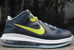 Nike LeBron 9 Low Obsidian/Cyber Sneaker (New Images)