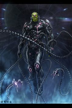 Brainiac by Bogdan-MRK.deviantart.com on @DeviantArt