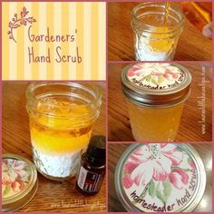 Creative gift idea! Gardeners' Hand Scrub - DIY Gift For Farmers, Homesteaders and Gardeners http://lauraslittlehousetips.com/gardeners-hand-scrub-diy-gift-for-farmers-homesteaders-and-gardeners/?utm_campaign=coschedule&utm_source=pinterest&utm_medium=Lauras%20Little%20House%20Tips%20(Featured%20on%20Little%20House%20Tips)&utm_content=Gardeners'%20Hand%20Scrub%20-%20DIY%20Gift%20For%20Farmers%2C%20Homesteaders%20and%20Gardeners