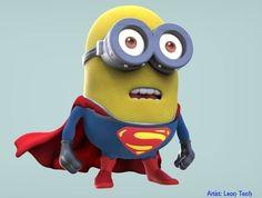 Super Hero - Superman #minions #superman