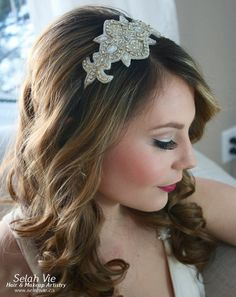 The Jacqueline Rhinestone HairBand Selah Vie Hair and Makeup Artistry has recently opened our online shop selling a wide variety of Bridal Ribbon Hairbands, Bridal Headbands & Rhinstone Hair Combs. Selah Vie also offers the option to CUSTOM ORDER a hair piece or belt that best suits you! Prices vary and are available to buy online at www.selahvie.ca #Hair #Bridal #photoshoot #BridalHair #BridalBling #HairBling #Rhinestones #Haircombs #Bling #Pictureperfect #Beauty #LoveYourself #londonON…