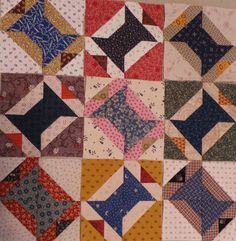 Kindred Quilts: Blue Spools