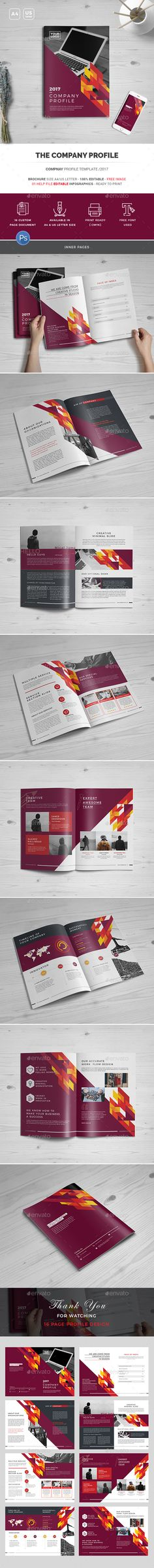 Corporate Brochure (Square Format) Corporate brochure, Brochures - format of company profile