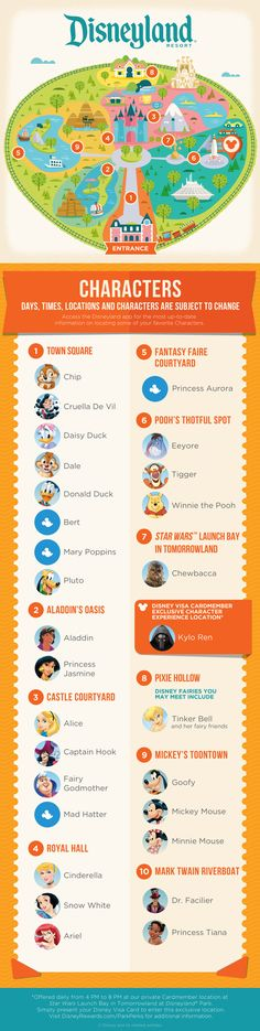 With this guide, you can find the Character Experiences waiting for you at…