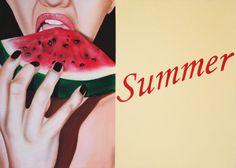 Oil on linen woman portrait summer by Gennaro Santaniello on Etsy.