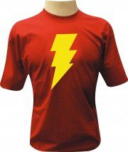 Camiseta Sheldon Shazam - Camisetas Personalizadas, Engraçadas e Criativas