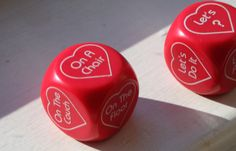 LOVERS STOCKING STUFFER Pair of Dice For Lovers by ArtBarn on Etsy