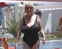 A collection of mature women with great big tits. Sexy Older Women, Old Women, Sexy Women, Bikinis, Swimsuits, Swimwear, Thing 1, Vintage Style Dresses, Bikini