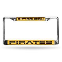San Diego Padres MLB Chrome Laser Cut License Plate Frame