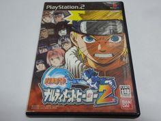 #36 Japan game PS2 Naruto Ultimate Ninja 2 BANDAI Free Shipping Japanes  anime #BANDAI
