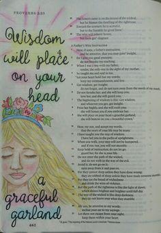 Proverbs 3:9 Bible art journaling by @peggythibodeau www.peggyart.com