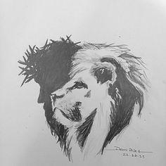 """""""Não chores; eis aqui o Leão da tribo de Judá, a raiz de Davi.."""" #lion…"""