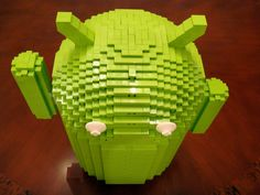 Lego Android Towers Over All