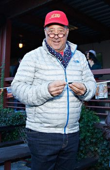 Andrew Zimmern guest judged on Chopped Bizarre Baskets http://www.examiner.com/article/chopped-chefs-are-shocked-with-bizarre-baskets-on-food-network