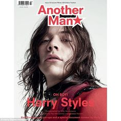 A rock 'N' Roll icon? In a solo cover shoot for Another Man magazine, the 22-year-old One Direction star models three very different looks - taken from the '60s, '70s and '80s.