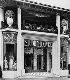 Paris Exposition 1925 Ruhlmann Pavilion Pavilion and Art deco